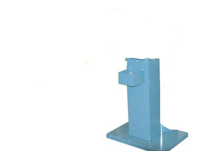 Bench grinder stand with water tray GS-200